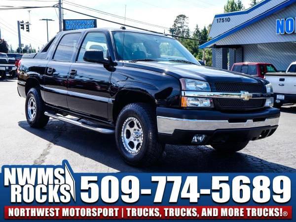 2004 *Chevrolet Avalanche* 1500 4x4 - Tonneau Cover! 2004 Chevrolet...
