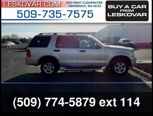 2004 Ford Explorer XLT 4dr 4WD SUV Silver