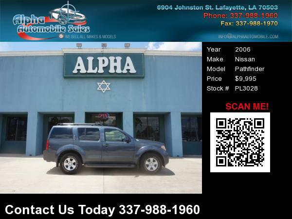 2006 Nissan Pathfinder 4 Dr SUV