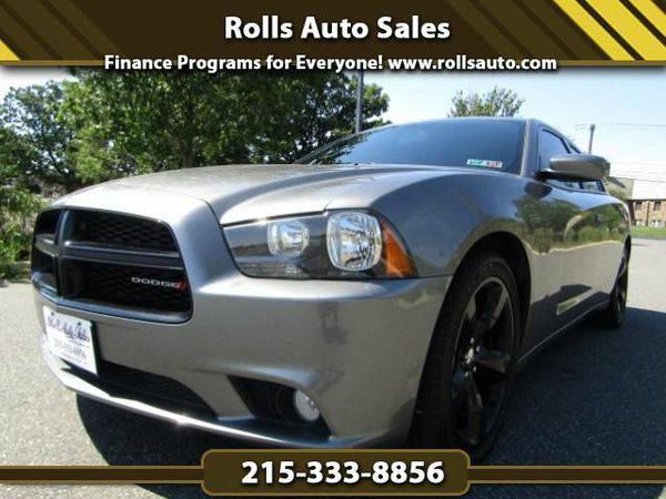 2012 *Dodge* *Charger* SXT From $495 Down! EZ Financing