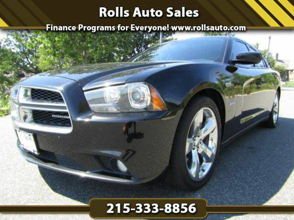 2012 *Dodge* *Charger* R/T From $495 Down! EZ Financing