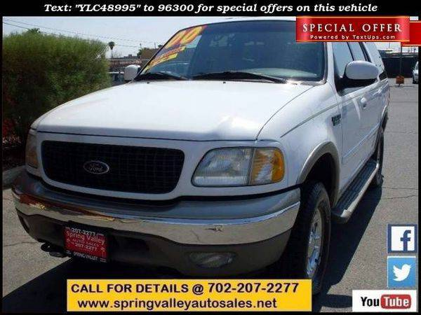 2000 *Ford* *Expedition* Eddie Bauer 4dr 4WD SUV