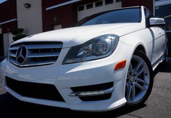 2013 *Mercedes-Benz* *C-Class* ONE OWNER,SPORT PKG,PREMIUM...