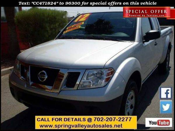 2012 *Nissan* *Frontier* S 4x2 4dr King Cab Pickup 5A