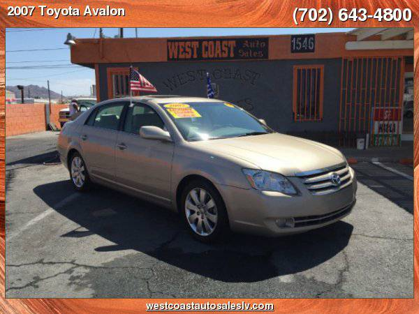 2007 Toyota Avalon 4dr Sdn XL (Natl) *No Credit? No Problem!