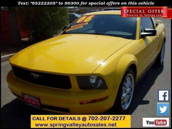 2006 *Ford* *Mustang* V6 Standard 2dr Coupe