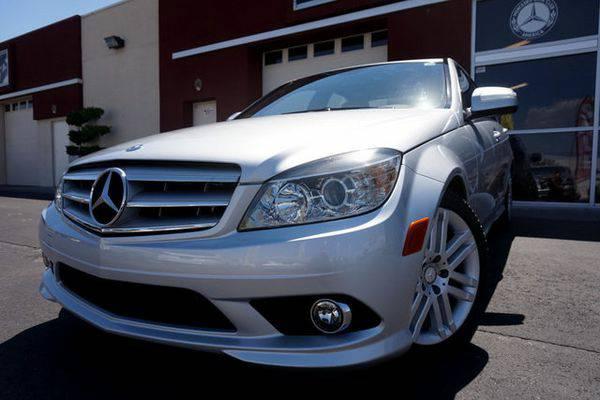 2009 *Mercedes-Benz* *C-Class* ONE OWNER, SPORT PKG, PREMIUM PKG, LOW