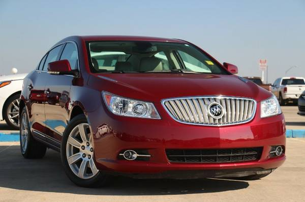 2011 BUICK LACROSSE CXL! ONE OWNER & NON-SMOKER! ONLY $210 A MONTH!