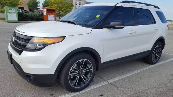 2015 FORD EXPLORER SPORT!!! LEATHER LOADED WITH NAV AND SUNROOF!!!
