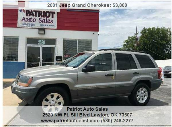 ----- 2001 JEEP GRAND CHEROKEE LAREDO -----