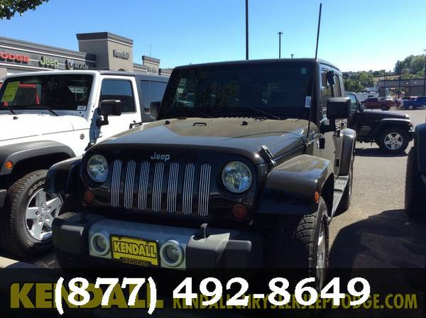 2009 Jeep Wrangler Unlimited Black LOW PRICE - Great Car!