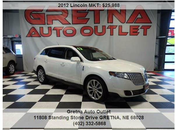 2012 Lincoln MKT**ECOBOOST AWD ONLY 63K HEATED/COOLED LEATHER ROOF 3RD