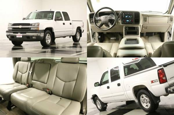 *SILVERADO 1500 Z71 4X4 - HEATED LEATHER* 2005 Chevy *BOSE AUDIO - 5.