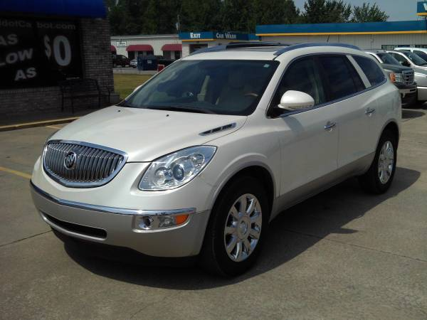 2011 Buick Enclave CXL Pearl White