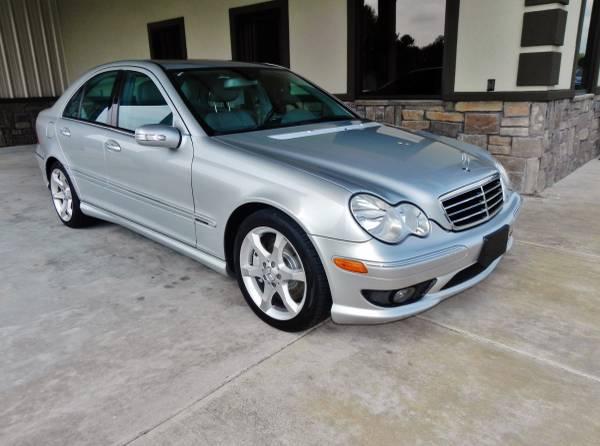 ►2007 Mercedes-Benz C-Class - V6 SILVER