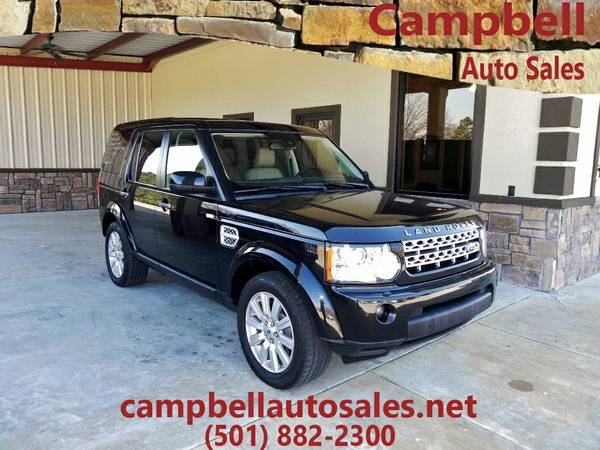 >>2012 Land Rover LR4 BLACK V8>>