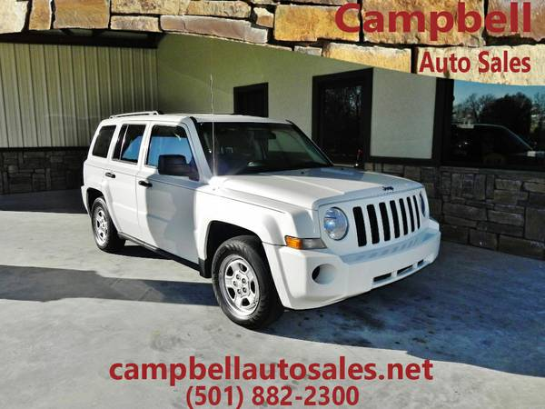★2010 Jeep Patriot 104314 miles WHITE★