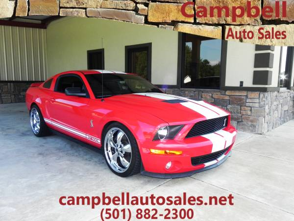 ◄ ◄2007 Ford Shelby GT500 V8 RED