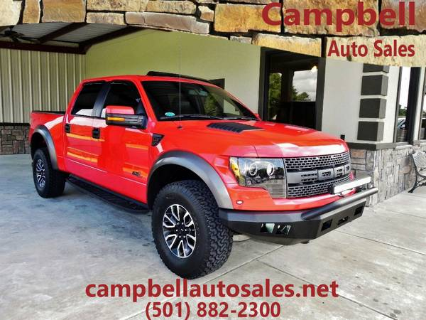 ◄►2012 Ford F-150 V8 RED