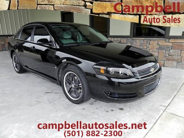 x#2009 Chevrolet Impala - BLACK V6