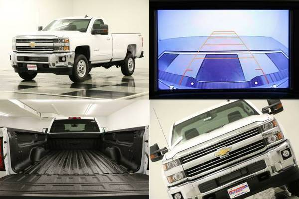 *SILVERADO 2500 4X4 - $6374 OFF MSRP* 2016 Chevy *6.0L V8 - CAMERA*