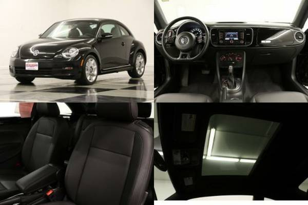 *BEETLE w GPS* 2012 Volkswagen *SUNROOF - HEATED LEATHER*