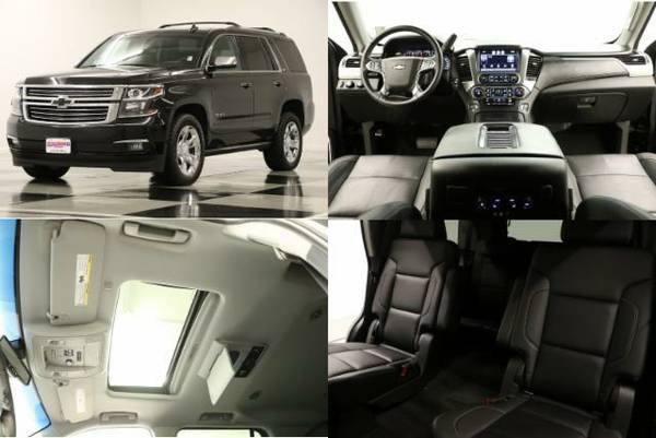 *LIKE NEW Black TAHOE 4X4 - DVD* 2015 Chevy *GPS NAV- SUNROOF*