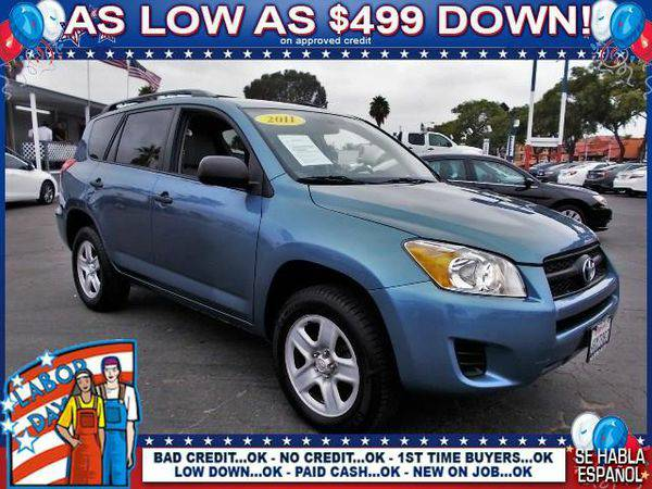 2011 *Toyota* *RAV4* Base 4dr SUV - CALL TODAY!