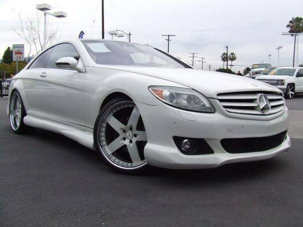 **Low Down Payment** 2008 MERCEDES-BENZ CL-Class CL550 2dr Coupe