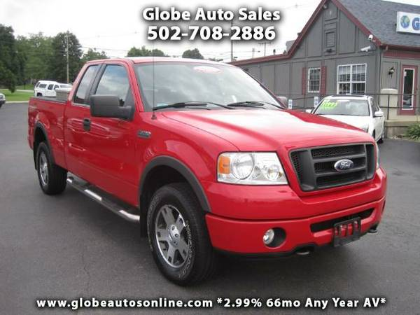*LOW MILES* 2006 Ford F-150 FX4 SuperCab 4X4 - 2.99% 66MO AV