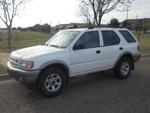 >>> 2002 ISUZU RODEO *** GREAT SUV WITH LOW MILES ONLY 85K...