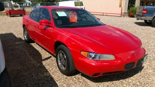 2000 Pontiac GrandPrix $2,350 OBO