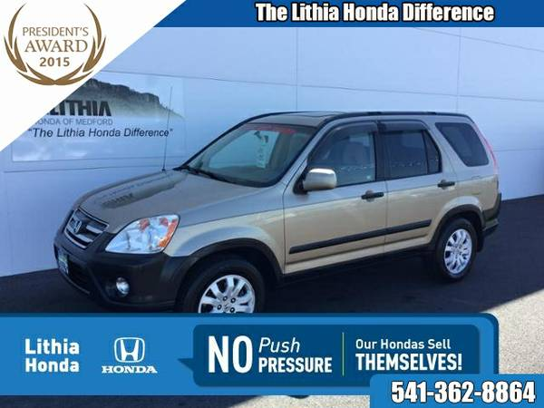 2005 HONDA CR-V EX MANUAL (JHLRD77855C040969)