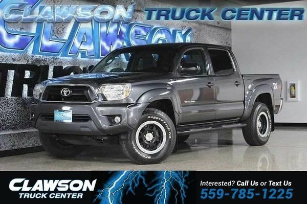 2012 Toyota Tacoma 4WD Double Cab V6 AT (Natl) Truck Tacoma Toyota