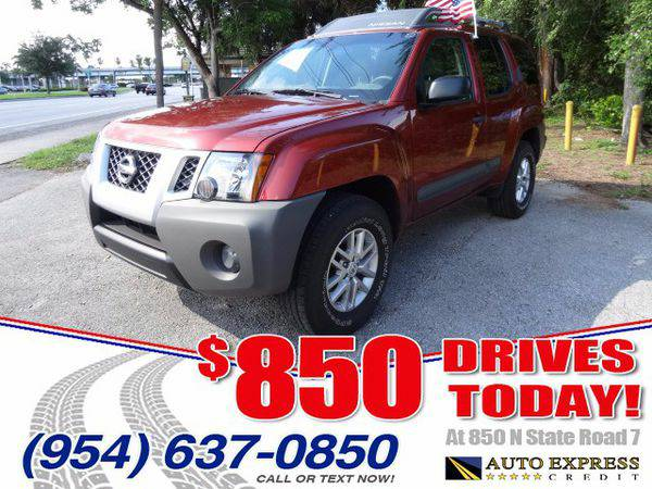 2014 *Nissan* *Xterra* S 2WD - $850 DRIVES AT 850 N STATE ROAD 7