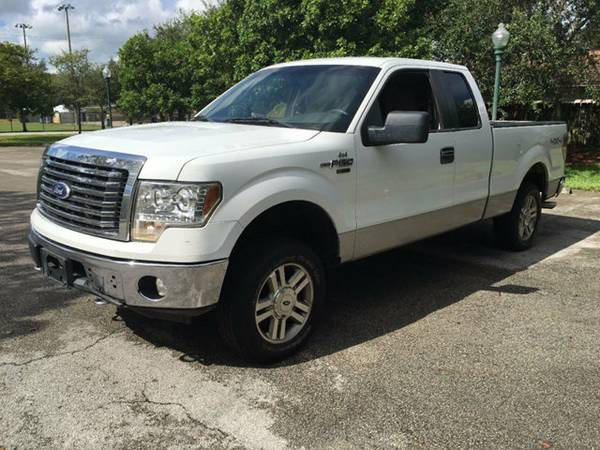 2010 FORD F-150 SUPERCAB 145 XLT TRUCK CLEAN TITLE/LOW MILES/LIKE NEW