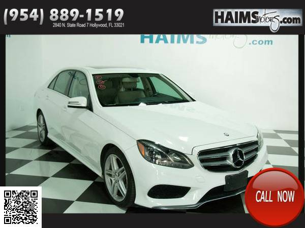 2014 Mercedes-benz E-class 4dr Sedan E350 4matic All Wheel Drive