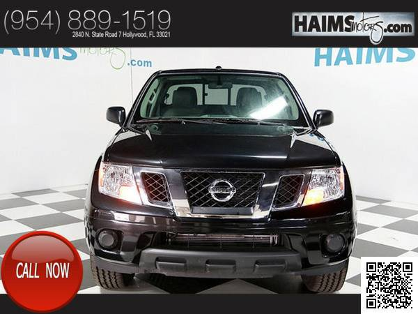 2016 *Nissan* *Frontier* *2wd Crew Cab Swb Automatic Sv* 745 Miles