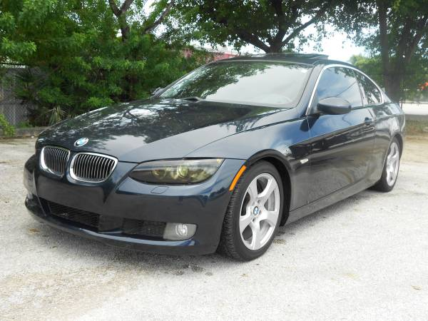 2007 BMW 328I COUPE **CLEAN TITLE AND CARFAX** $1495 DOWN