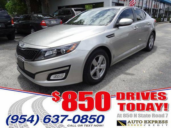 2014 *Kia* *Optima* LX - $850 DRIVES AT 850 N STATE ROAD 7