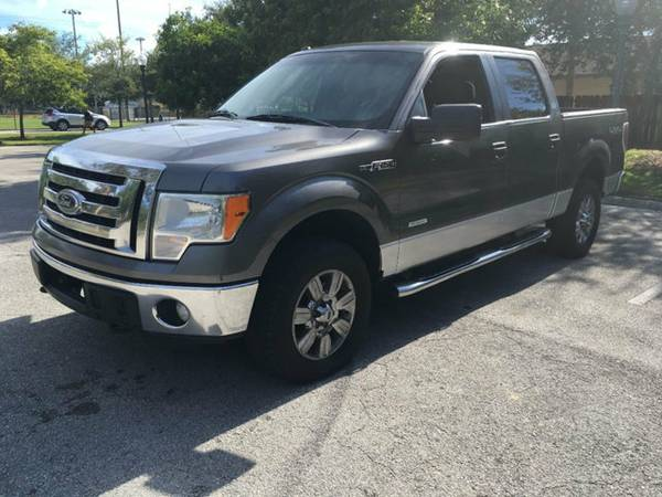 2011 FORD F-150 4WD SUPERCREW 145 FX4 TRUCK CLEAN TITLE/LIKE NEW!