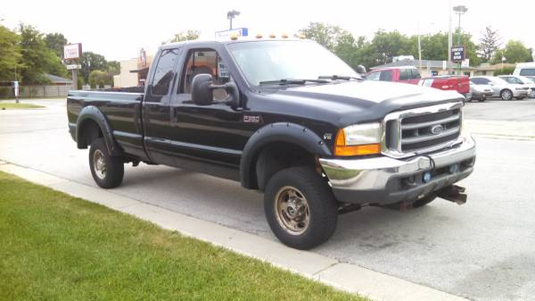 122,321 Actual Miles! Ford F350 Lariat Ext Cab 4X4 with Free Warranty!