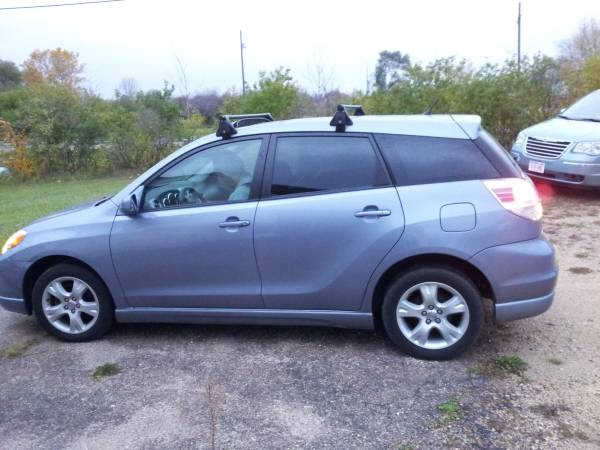 2006 TOYOTA MATRIX AWD, LEATHER HEAT, SPORT ROOF RACK, 1 OWNER FAMILY