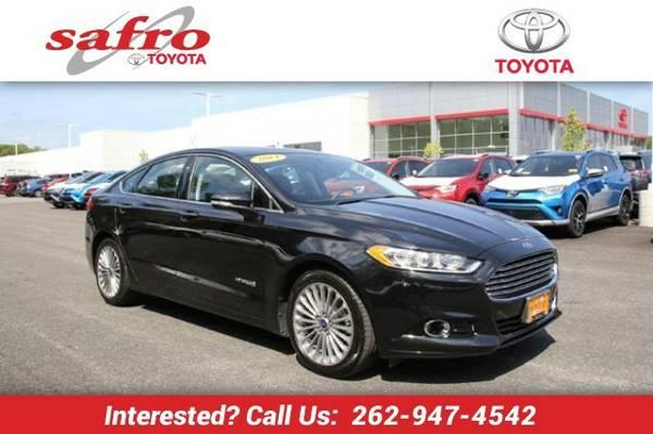 2014 Ford Fusion Hybrid Sedan Fusion Hybrid Ford