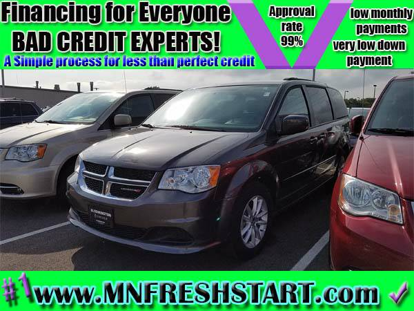 █ 2015 *DODGE* *GRAND CARAVAN* *BAD* or *NO* *CREDIT* ok!...