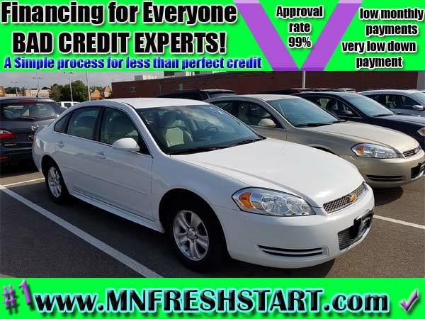 █ 2011 *CHEVY* *IMPALA* *BAD* or *NO* *CREDIT* ok! █
