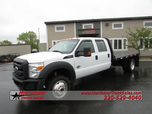 2012 Ford F550 F 550 4x4 Flatbed Truck 8703