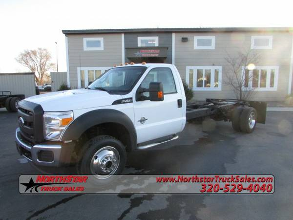 2011 Ford F550 4x4 Cab Chassis Truck 6965