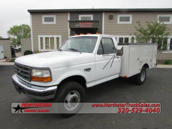1997 Ford F450 F 450 Utility Truck 3476