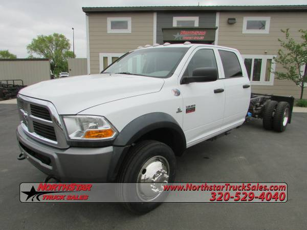 2011 Dodge 4500 HD 4x4 Cab Chassis Truck 3173